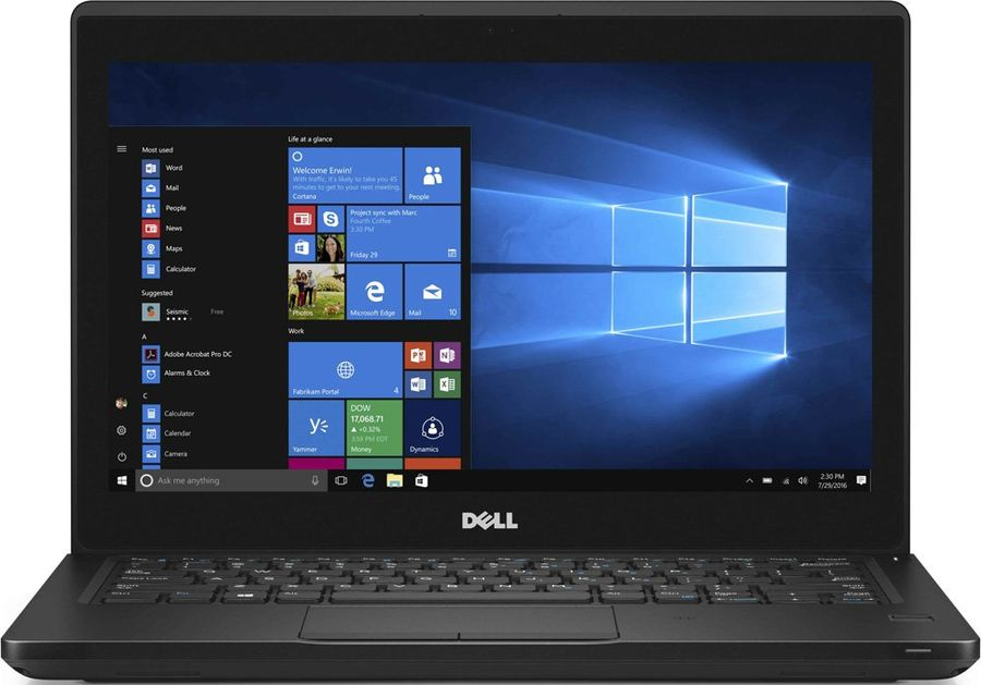 Ноутбук DELL Latitude 5280, 12.5, Intel Core i3 7100U 2.4ГГц, 4Гб, 500Гб, Intel HD Graphics 620, Windows 10 Professional, 5280-9569, черныйНоутбуки<br>экран: 12.5;  разрешение экрана: 1366х768; процессор: Intel Core i3 7100U; частота: 2.4 ГГц; память: 4096 Мб, DDR4; HDD: 500 Гб, 5400 об/мин; Intel HD Graphics 620; WiFi;  Bluetooth; HDMI; WEB-камера; Windows 10 Professional<br><br>Линейка: Latitude