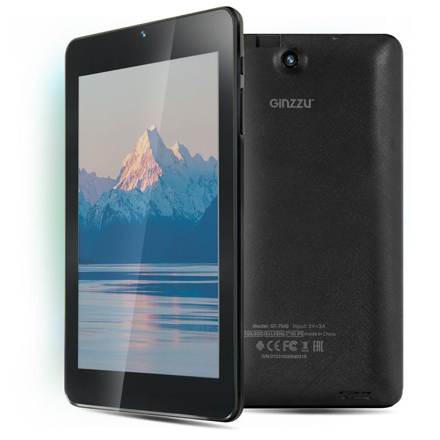 Планшет GINZZU GT-7040,  1GB, 8GB, Android 5.1 черный [00-00000797]