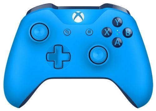 Геймпад Беспроводной MICROSOFT WL3-00020, для  Xbox One, синий