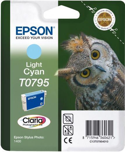 Картридж EPSON T0795, светло-голубой [c13t07954010]