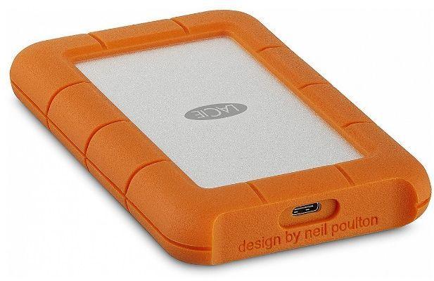 Внешний жесткий диск LACIE Rugged Mini STFR2000800, 2Тб, оранжевый