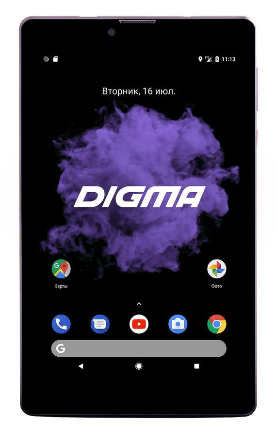 Планшет DIGMA CITI 7507 4G,  2GB, 32GB, 3G,  4G,  Android 7.0 черный [l707ds]