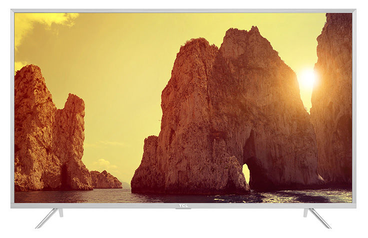 "LED телевизор TCL L65P2US  ""R"", 65"", Ultra HD 4K (2160p),  серебристый"