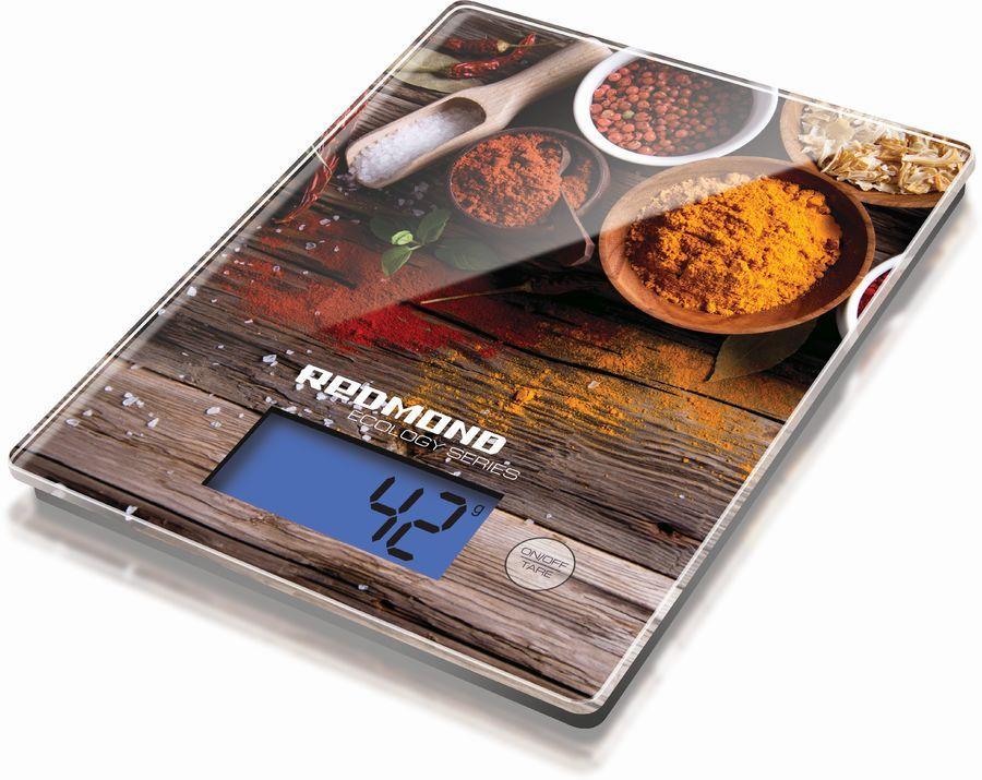 Весы кухонные REDMOND RS-736,  рисунок/специи
