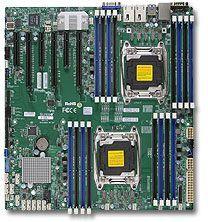 Серверная материнская плата SUPERMICRO MBD-X10DRI-B w/shield,  bulk