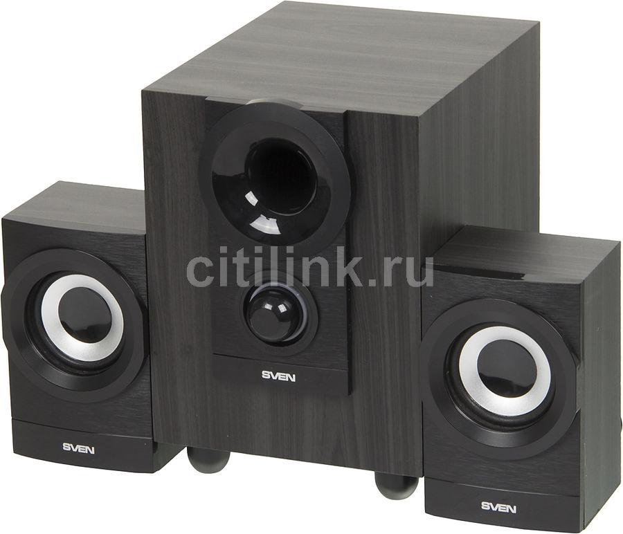 Колонки SVEN MS-150,  2.1,  черный