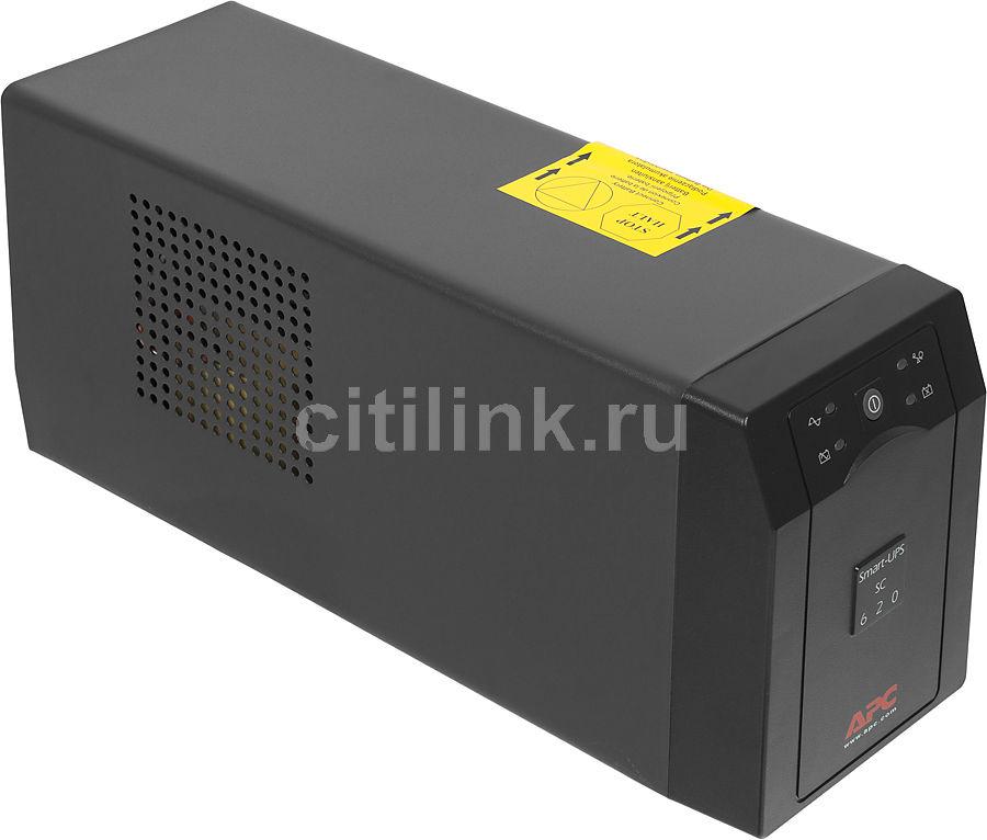 Источник бесперебойного питания APC Smart-UPS SC SC620I,  620ВA