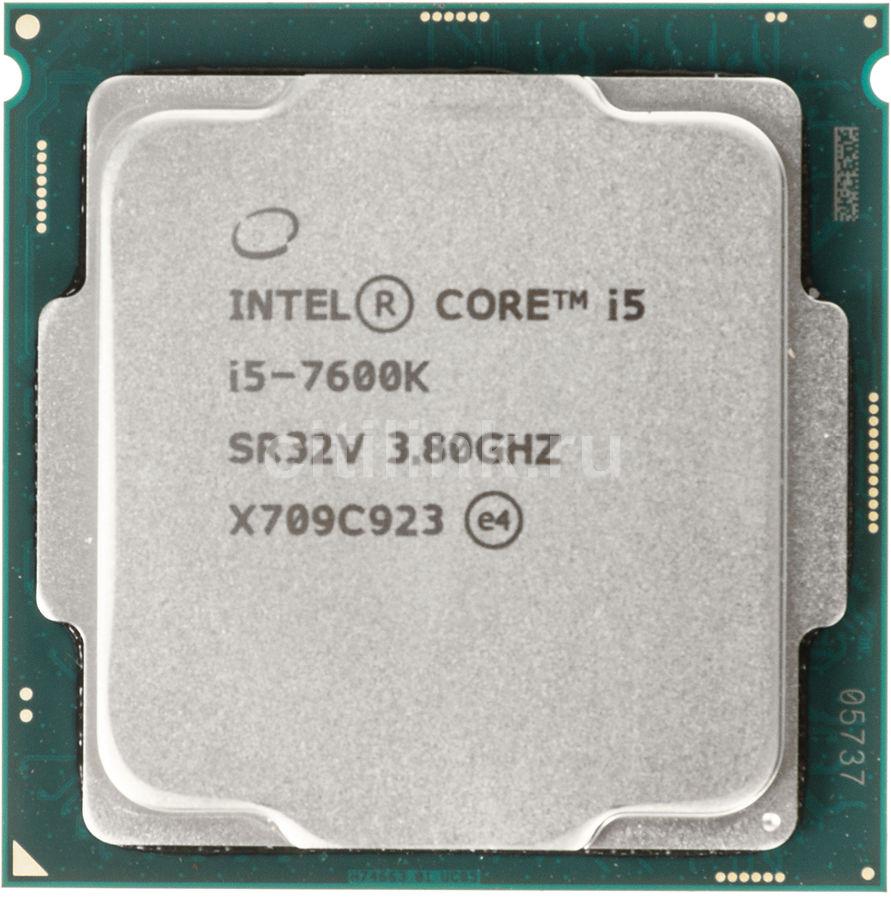 Процессор INTEL Core i5 7600K, LGA 1151 OEM [cm8067702868219s r32v]