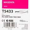 Картридж EPSON T5433 пурпурный [c13t543300] вид 2