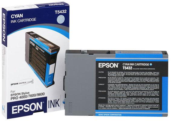 Картридж EPSON T5435 светло-голубой [c13t543500]