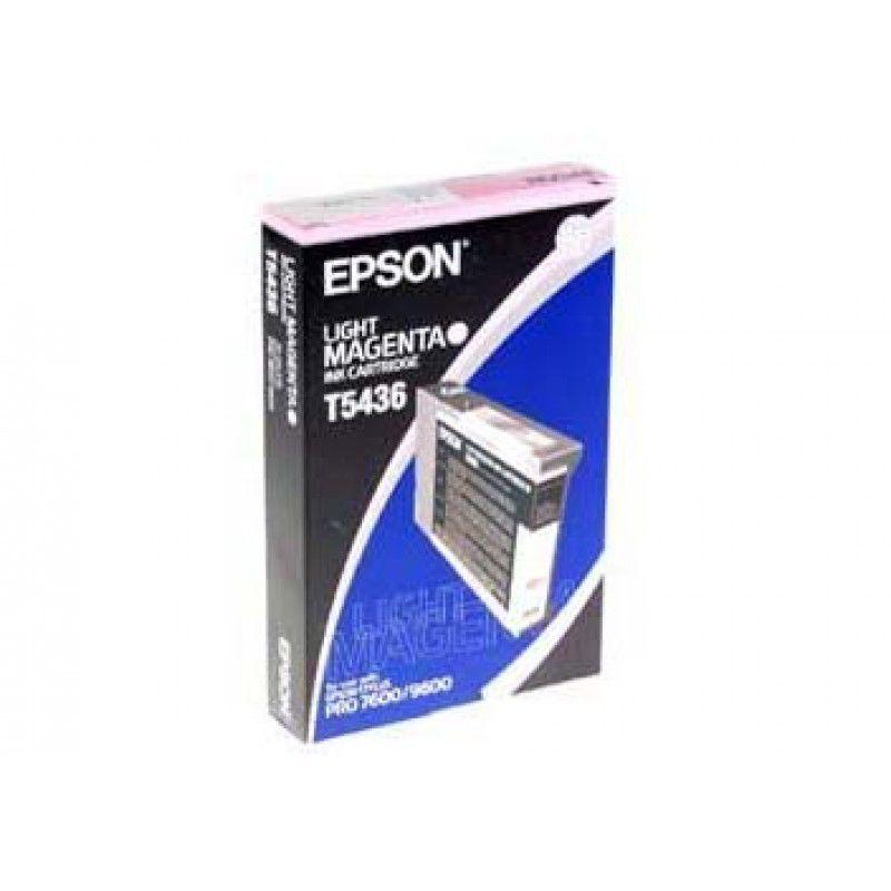 Картридж EPSON T5436 светло-пурпурный [c13t543600]