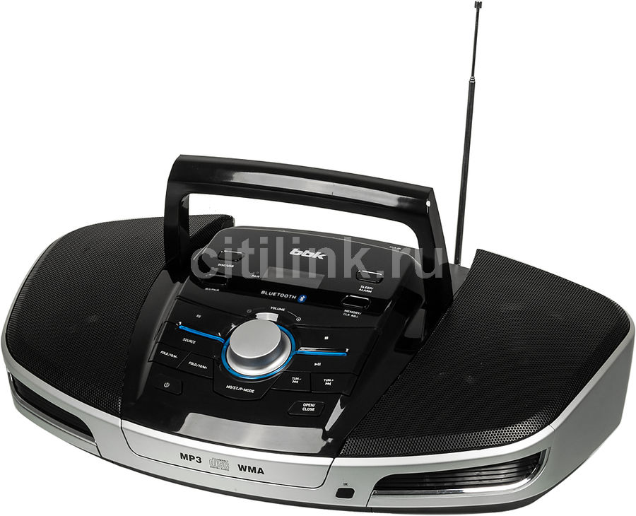 Аудиомагнитола BBK BX900BT,  черный