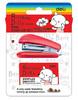 Степлер Deli E0253 Mini N10 (12листов) ассорти 40скоб блистер вид 1