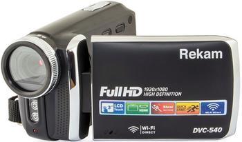 Видеокамера REKAM DVC-380, серебристый