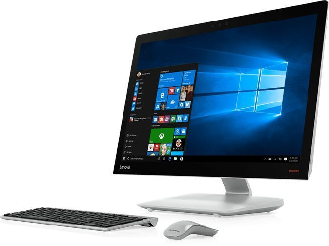 Моноблок Lenovo IdeaCentre 910-27ISH 27 Full HD i5 7400T/8Gb/1Tb/GT940A 2Gb/W10/kb/m/серебристый 19 [f0c20061rk]Моноблоки<br><br><br>Линейка: IdeaCentre