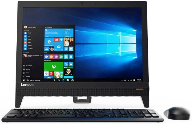 Моноблок LENOVO IdeaCentre 310-20IAP, Intel Celeron J3355, 4Гб, 500Гб, Intel HD Graphics 500, DVD-RW, Free DOS, черный [f0cl002hrk] моноблок lenovo ideacentre 310 20iap 19 5 intel j4205 4gb 500gb dos black
