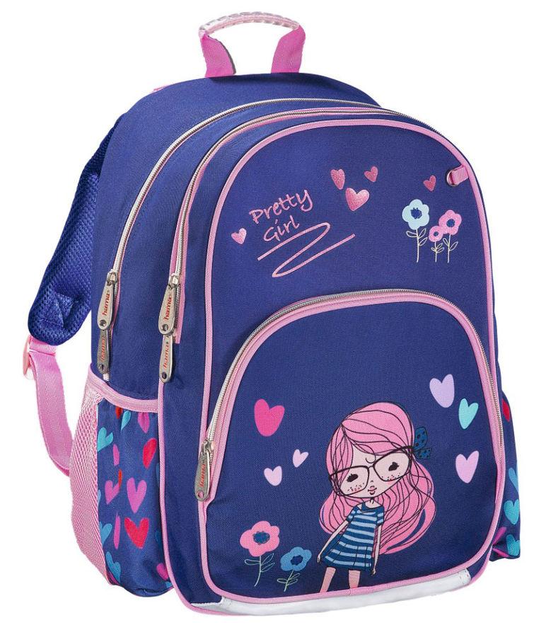 Рюкзак Hama PRETTY GIRL синий/розовый [00139090]