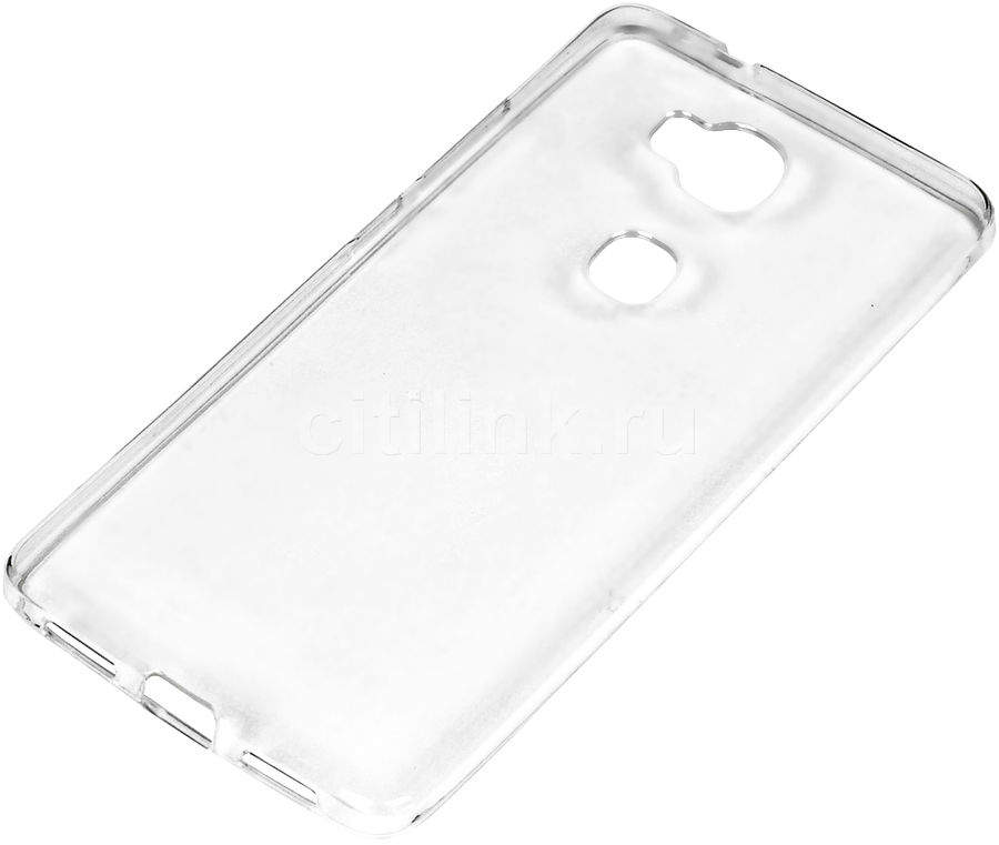 Чехол (клип-кейс) REDLINE iBox Crystal, для Huawei Honor 5X, прозрачный [ут000008542]