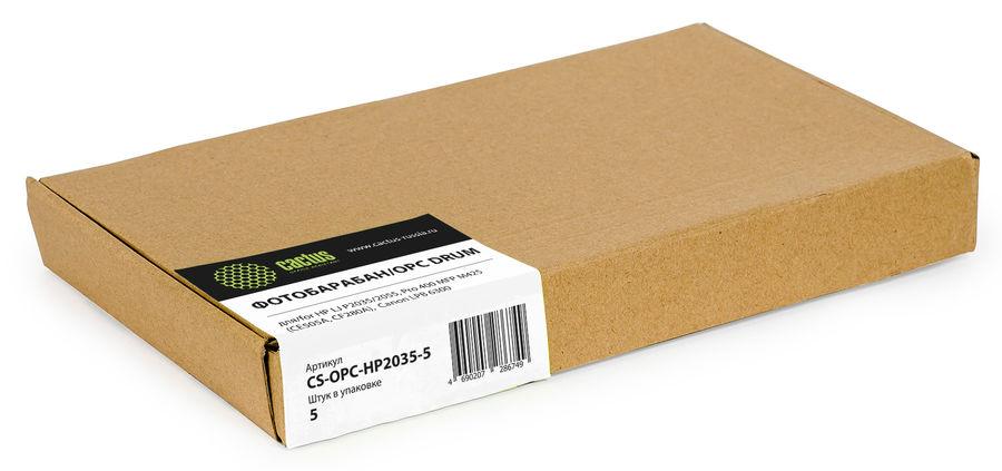 Фотобарабан OPC Cactus CS-OPC-HP2035-5 для HP LJ P2035/2055 Pro 400 MFP M425 (CE505A/CF280A) Canon L