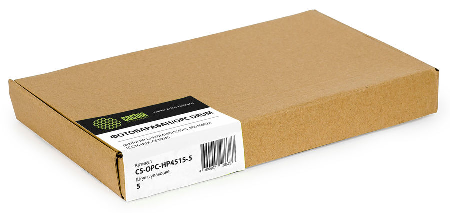 Фотобарабан OPC Cactus CS-OPC-HP4515-5 для HP LJ P4014/4015/4515, 600 M602n (CC364A/X, CE390A)