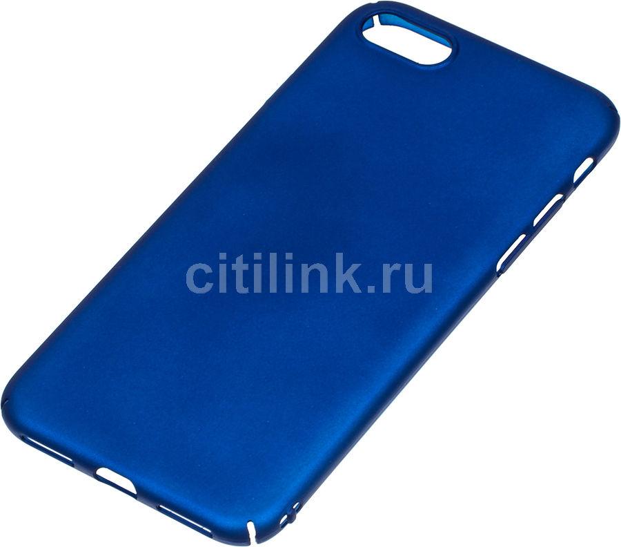 Чехол (клип-кейс) REDLINE iBox Fresh, для Apple iPhone 7, синий [ут000010069]