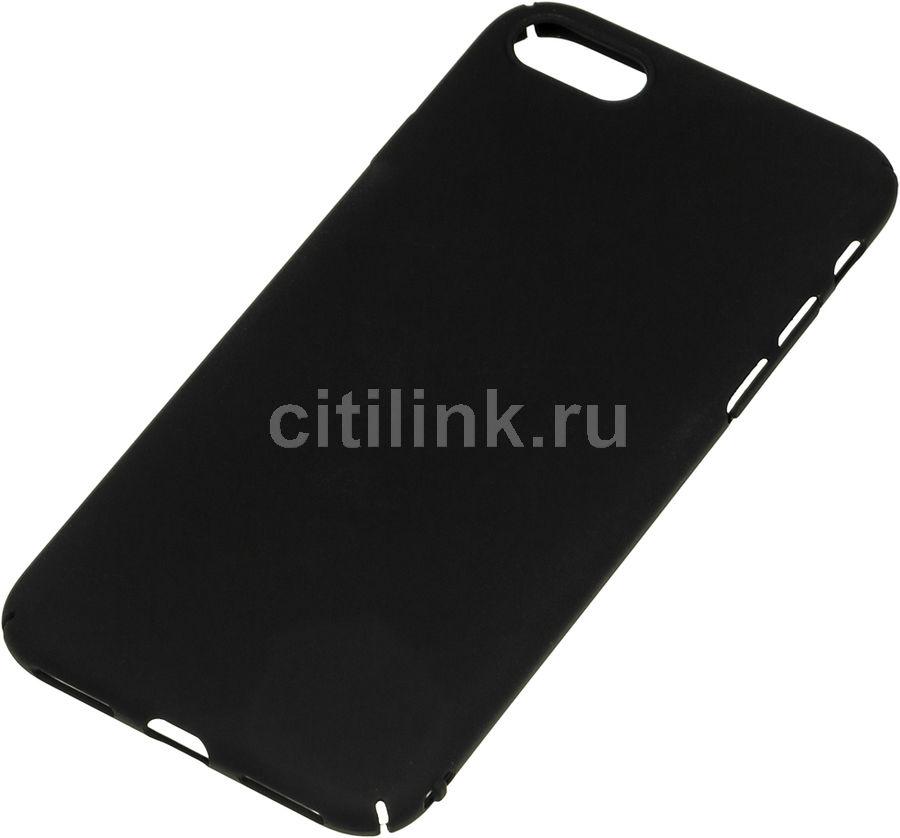 Чехол (клип-кейс) REDLINE iBox Fresh, для Apple iPhone 7, черный [ут000010070]