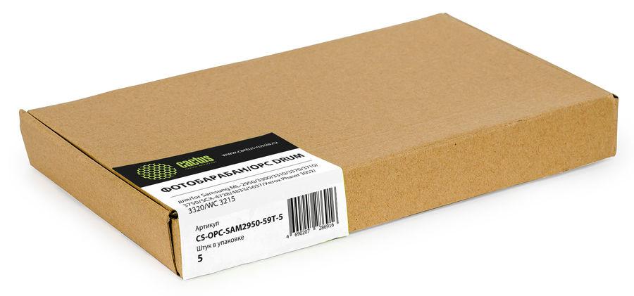 Фотобарабан OPC Cactus CS-OPC-SAM2950-59T-5 для Samsung ML-2950/3300/3310/3370/3710/3750/SCX-4728/48