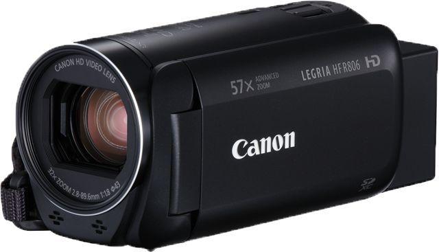 Видеокамера CANON Legria HF R806, черный,  Flash [1960c004]