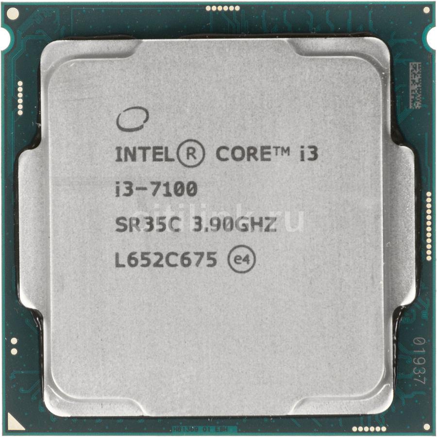 Процессор INTEL Core i3 7100, LGA 1151,  OEM