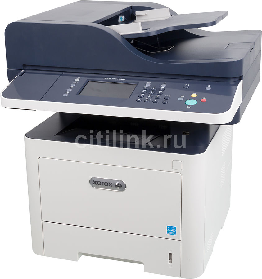 МФУ XEROX WorkCentre WC3345DNI, A4, лазерный, белый [3345v_dni] xerox workcentre 3345