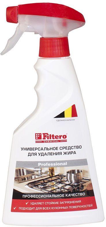 очиститель FILTERO Арт.511,  для кухонных плит и СВЧ,  500мл