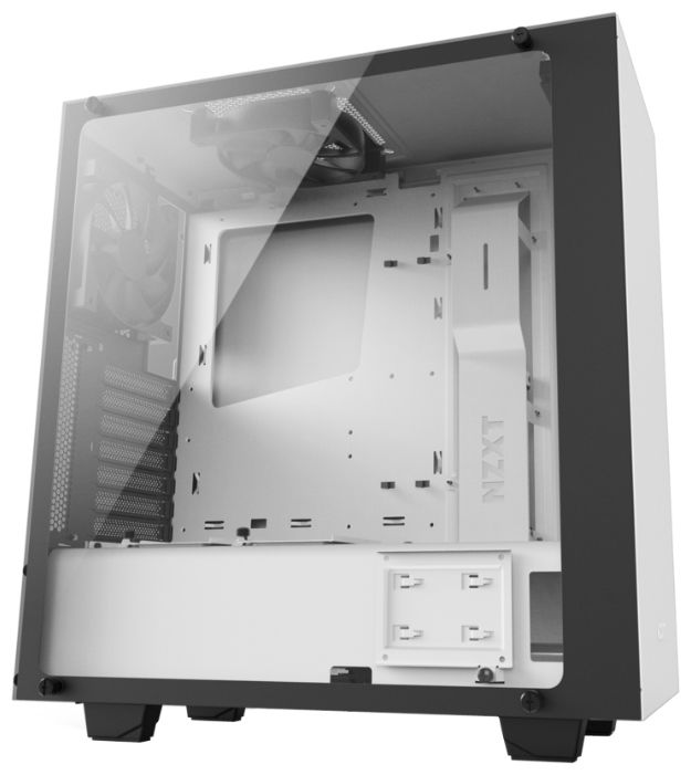 Корпус ATX NZXT S340 ELITE, Midi-Tower, без БП,  белый