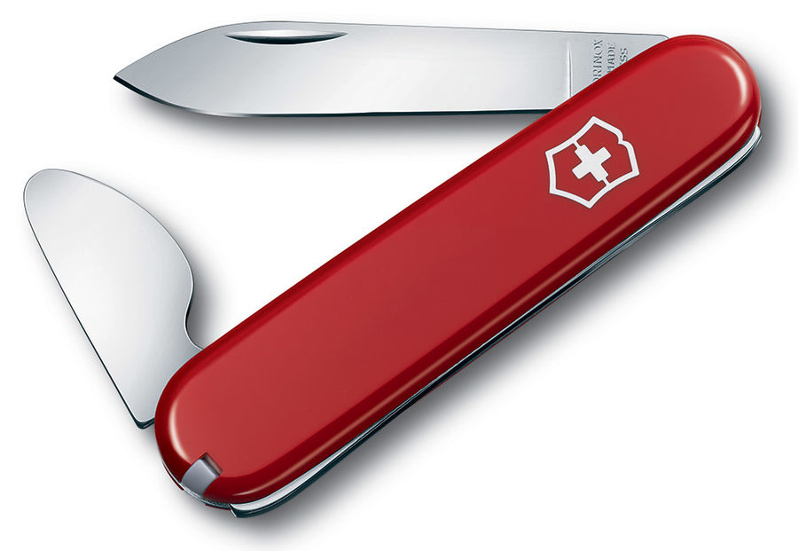 Нож перочинный Victorinox Opener (0.2102) 4функций красный карт.коробка
