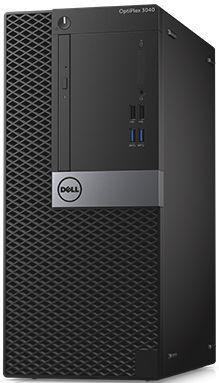 Компьютер  DELL Optiplex 3046,  Intel  Pentium  G4400,  DDR4 4Гб, 500Гб,  Intel HD Graphics 510,  DVD-RW,  Windows 10 Professional,  черный и серебристый [3046-8340]