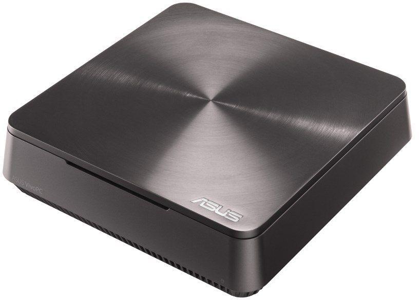 Неттоп  ASUS VivoPC VM60-G220Z,  Intel  Core i3  3217U,  DDR3 4Гб, 500Гб,  Intel HD Graphics 4000,  CR,  Windows 10,  темно-серый [90ms0061-m02200]