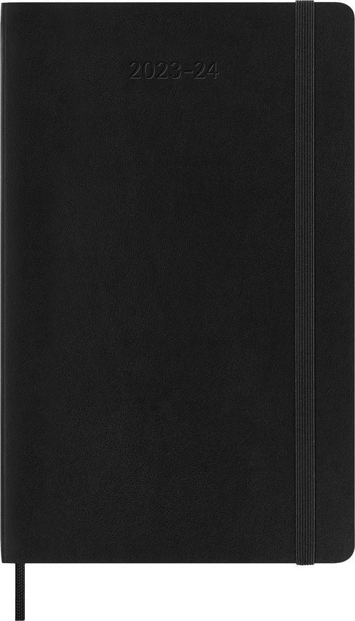 Еженедельник MOLESKINE Academic Soft WKNT,  датированный на 18 месяцев,  208стр.,  черный [dsb18wn3]