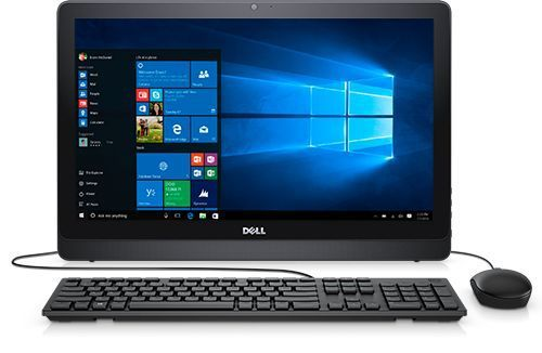 Моноблок DELL Inspiron 3264, Intel Core i3 7100U, 4Гб, 1000Гб, Intel GeForce 920MX - 2048 Мб, DVD-RW, Windows 10 Home, черный [3264-9088] компьютер iru home 310 intel core i3 7100 ddr4 4гб 1тб amd radeon rx 460 2048 мб dvd rw windows 10 home черный [435302]