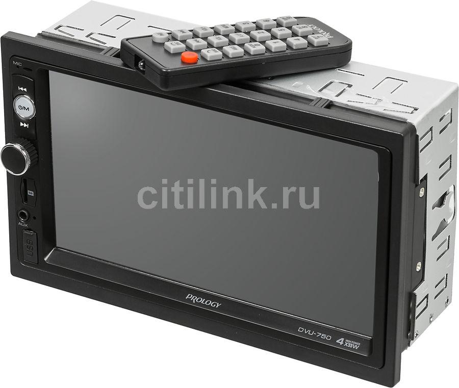 Автомагнитола PROLOGY DVU-750,  USB,  SD