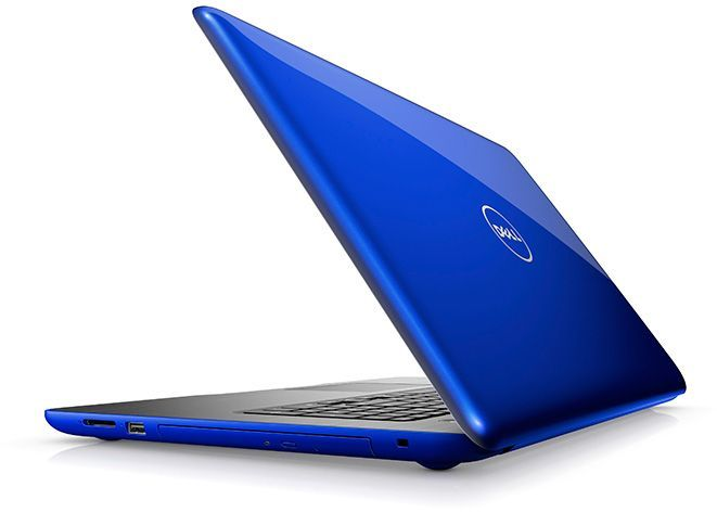 Ноутбук DELL Inspiron 5567, 15.6, Intel Core i5 7200U 2.5ГГц, 8Гб, 1000Гб, AMD Radeon R7 M445 - 4096 Мб, DVD-RW, Windows 10, синий [5567-8017]Ноутбуки<br>экран: 15.6;  разрешение экрана: 1920х1080; процессор: Intel Core i5 7200U; частота: 2.5 ГГц (3.1 ГГц, в режиме Turbo); память: 8192 Мб, DDR4; HDD: 1000 Гб; AMD Radeon R7 M445 - 4096 Мб; DVD-RW; WiFi;  Bluetooth; HDMI; WEB-камера; Windows 10<br><br>Линейка: Inspiron