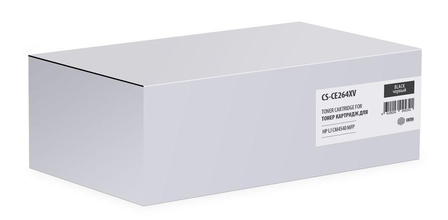 Картридж CACTUS CS-CE264XV, черный