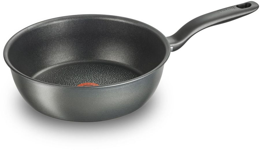 Мультисковорода TEFAL Hard Titanium+ C6928502, 26см, без крышки,  черный [2100096665]