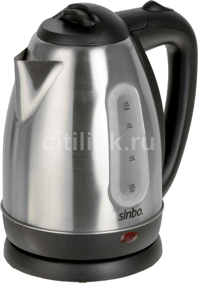 Чайник электрический SINBO SK 7362, 2200Вт, серебристый