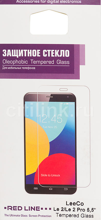 Защитное стекло REDLINE для LeeCo Le 2/Le 2 Pro,  1 шт [ут000009961]
