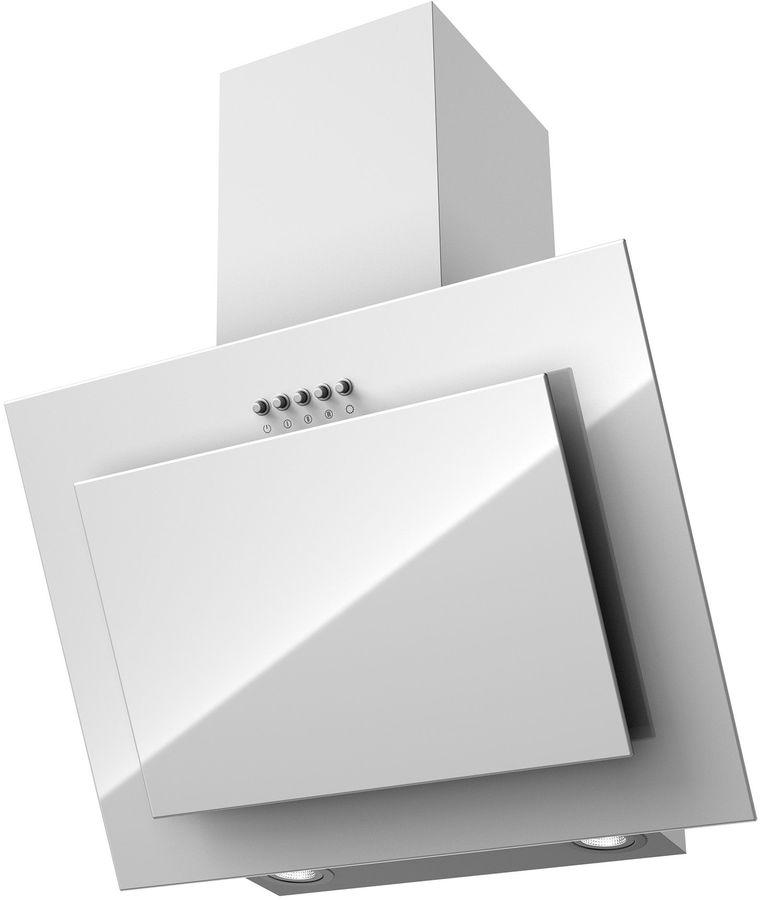 Вытяжка каминная Krona Seliya 600 PB белый управление: кнопочное (1 мотор)