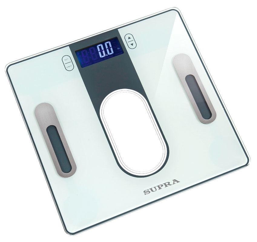 Напольные весы SUPRA BSS-6300, до 180кг, цвет: серый [10595]