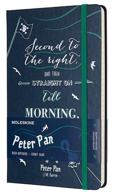 Блокнот Moleskine Limited Edition PETER PAN Large 130х210мм 240стр. линейка Pirates [lepn01cqp060]