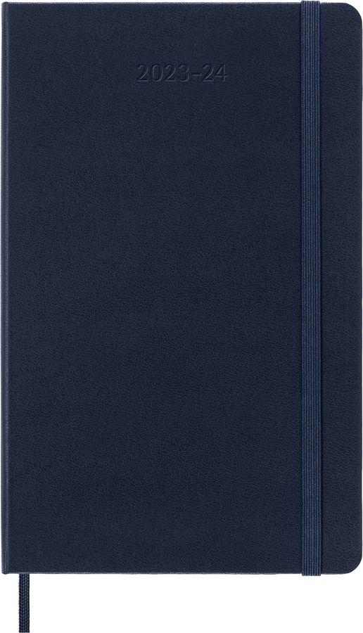 Еженедельник MOLESKINE Academic WKNT,  датированный на 18 месяцев,  208стр.,  синий сапфир [dhb2018wn3]