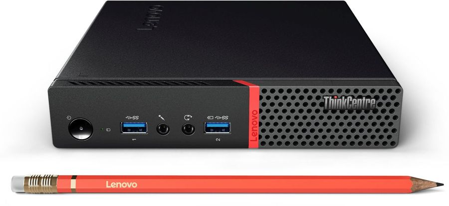 ПК Lenovo ThinkCentre M600 TINY slim P J3710/4Gb/SSD128Gb/W10SL64/kb/m/черный [10g9001kru]Компьютеры<br><br><br>Линейка: ThinkCentre