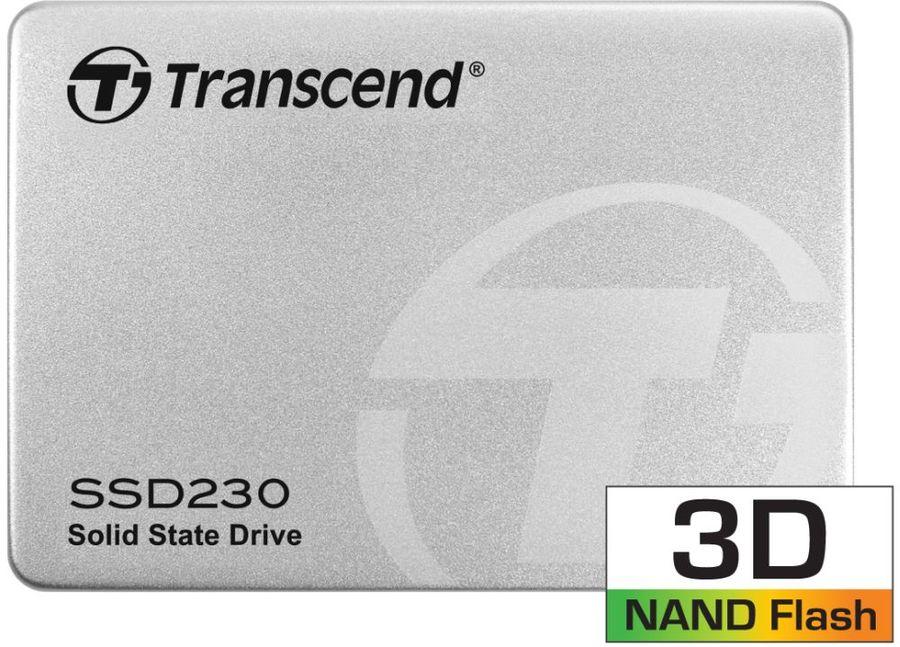SSD накопитель TRANSCEND TS512GSSD230S 512Гб, 2.5