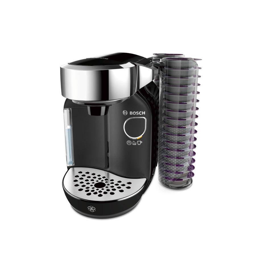 Капсульная кофеварка BOSCH Tassimo TAS7002, 1300Вт, цвет: черный